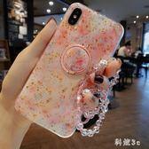蘋果x手機殼8plus個性創意硅膠女款6防摔iphone 7軟殼指環支架6splus  6p GW297【科炫3c】