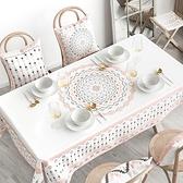時尚可愛空間餐桌布 茶几布 隔熱墊 鍋墊 杯墊 餐桌巾555 (110*110cm)