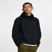 Nike 服飾系列 Sportswear Tech Fleece -男款全長式拉鍊連帽上衣- NO.928484010
