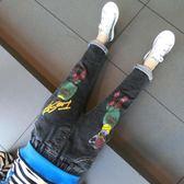 男童牛仔褲春秋新款韓版寶寶1-3-5-8歲兒童長褲子童裝春季潮 熊貓本
