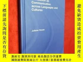 二手書博民逛書店Translation罕見as Communication ac