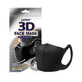 萊潔 立體醫療口罩-成人用(黑色) (5入袋裝)