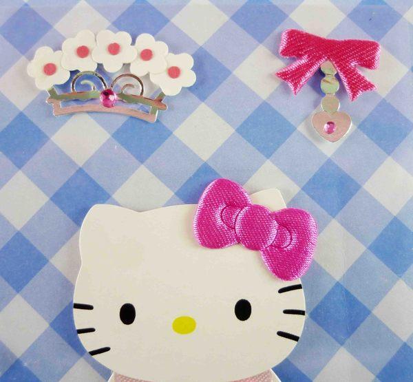 【震撼精品百貨】Hello Kitty 凱蒂貓~KITTY立體貼紙-玫瑰