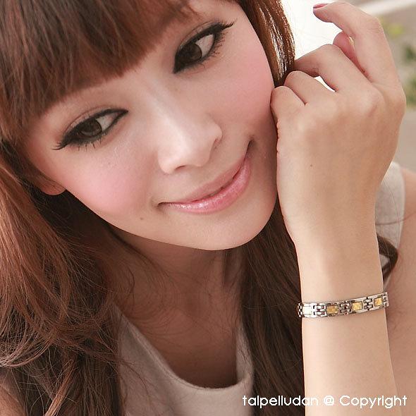 【全館折扣】 頂級 日本製 鈦鍺手鍊 FION 10石 G01 女手鍊 健康手鍊 純鈦純鍺 鈦手鍊 能量手鍊