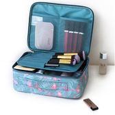 限定款收纳袋化妝包小號簡約便攜正韓大容量多功能化妝品收納包袋少女心化妝袋