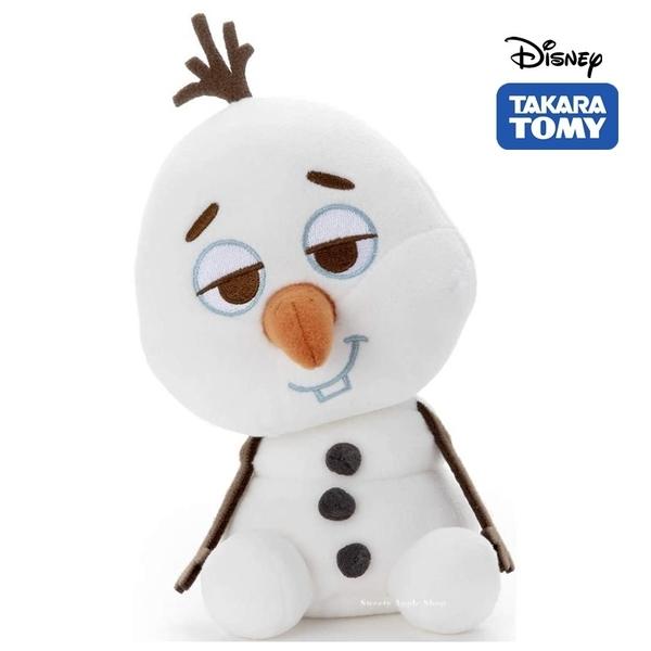 日本限定 TAKARA TOMY A.R.T.S 迪士尼 冰雪奇緣 雪寶 ねおっちぃ Zzz.. 玩偶娃娃 18.5cm