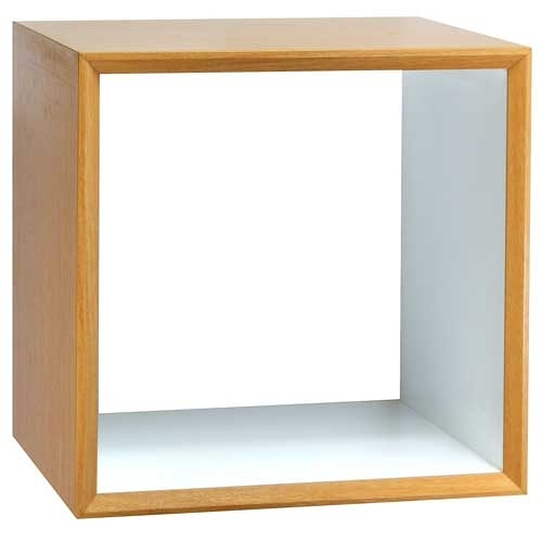 【藝匠】魔術方塊原木色小鏤空櫃收納櫃 家具 組合櫃 廚具 收藏 置物櫃 櫃子 小櫃子