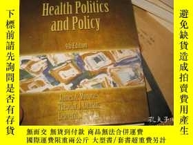 二手書博民逛書店HEALTH罕見POLITICS AND POLICY 4TH