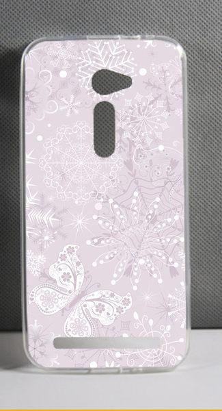 ♥ 俏魔女美人館 ♥ ASUS 華碩5吋 Zenfone 2 /ZE500CL {淡紫*軟殼} 手機殼 手機套 保護套 保護殼
