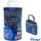 Verage 維麗杰 體育系列TAS海關密碼鎖(藍)