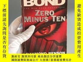 二手書博民逛書店ZERO罕見MINUS TENY467724 JAMES BOD 外文社 出版1997