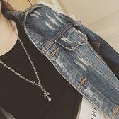 歐美復古風時尚個性做舊十字架長版項鍊【新店開張8折促銷】