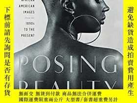 二手書博民逛書店Posing罕見Beauty: African American