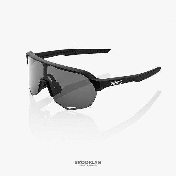 【100%】太陽眼鏡 黑 運動 騎行 21 S2 - SOFT TACT BLACK W 1006100310202