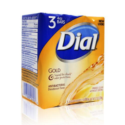 美國【Dial】經典黃金皂 4oz*3塊入