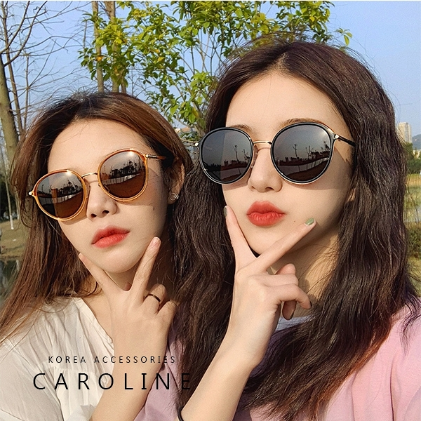 《Caroline》年度最新網紅款潮流百搭抗UV時尚太陽眼鏡 72192