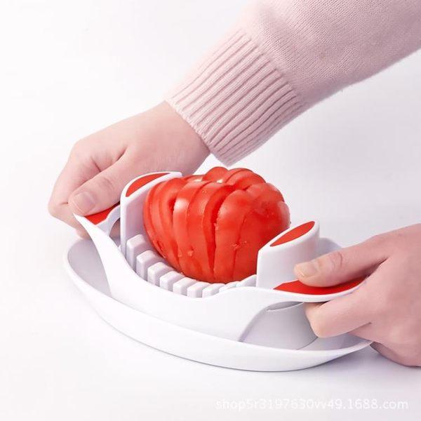 水果工具 神刀俠水果蔬菜雞蛋切片器西紅柿香菇草莓切片神器水果分割器家用 晴天時尚館