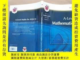 二手書博民逛書店A-Level罕見Mathematics Statistics