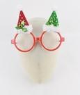 節慶王【X004080】雙色聖誕襪造型眼鏡,聖誕節/派對/尾牙/表演/面具/舞會/春酒/道具/造型眼鏡/慶生