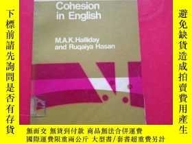 二手書博民逛書店Cohesion罕見in EnglishY216888