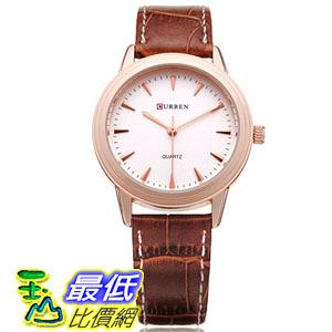 [國外直購] CURREN 8119 PU Leather Analog Quartz Wrist Watch 手錶