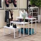 展示櫃架 收納櫃服裝店高低檯商場展示檯包...