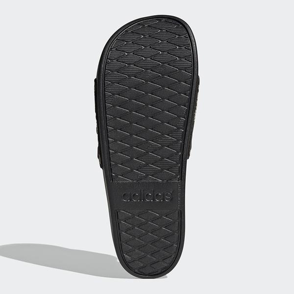 ADIDAS ADILETTE COMFORT 男鞋 拖鞋 休閒 柔軟 迷彩 黑 綠【運動世界】FZ4686