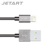 JETART 捷藝 LIGHTNING認證線 1.5米 灰