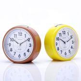 床頭大鈴聲音樂兒童臥室鬧鐘學生創意靜音小時鐘簡約多功能懶人鐘