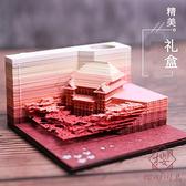 立體便利貼日本清水寺3d建築模型紙雕便簽紙【櫻田川島】