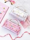 文具盒 少女心大容量筆袋高級感日系ins風小學生初中女孩韓版文具鉛筆盒 百分百