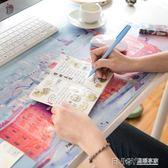廣博建筑系列大尺寸桌墊辦公筆記本桌墊游戲電腦書桌墊防水防滑WD 温暖享家