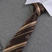 領帶 七美德-堅韌 原創男士領帶日系創意裝飾領帶dk潮【快速出貨八折特惠】