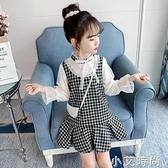 2020新款秋裝女童連衣裙洋氣春秋兒童公主裙長袖中大童小女孩裙子 小艾新品