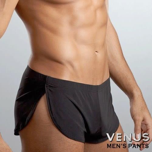 情趣內褲 性感丁字褲 情趣用品 角色扮演 內褲 同志 猛男 VENUS 透氣冰絲 舒適阿羅褲 四角褲 黑