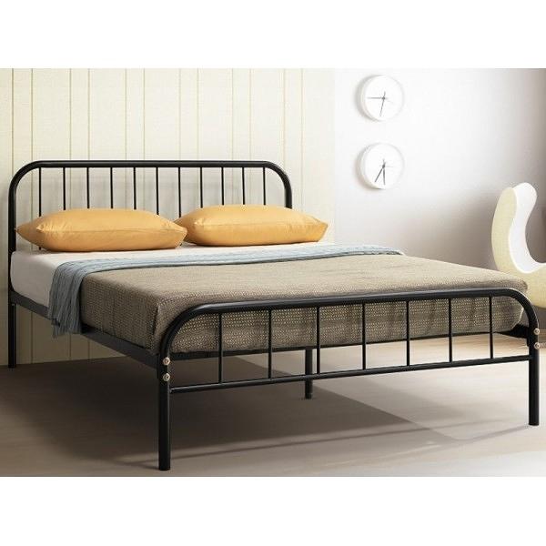 床架 床台 鐵床 TV-179-3 維拉黑色3.5尺床台 (不含床墊) 【大眾家居舘】