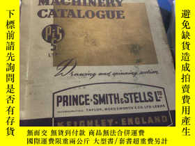 二手書博民逛書店WORSTED罕見MACHINERY CATALOGUE1320