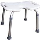 鋁製洗澡椅-9050無背-白色