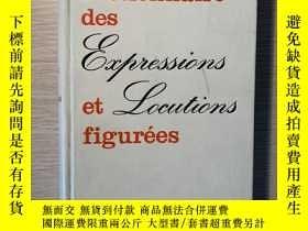 二手書博民逛書店法文原版罕見Dictionnaire de Expression