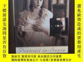 二手書博民逛書店Portrait罕見in Sepia: A Novel【精裝毛邊