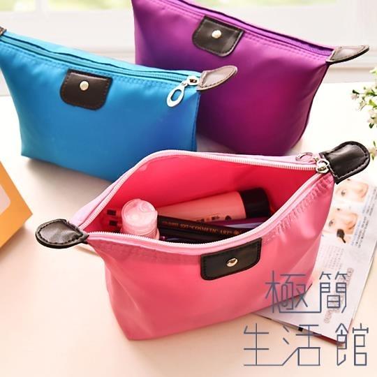 化妝包便攜大容量女化妝品盒收納袋洗漱包【極簡生活】