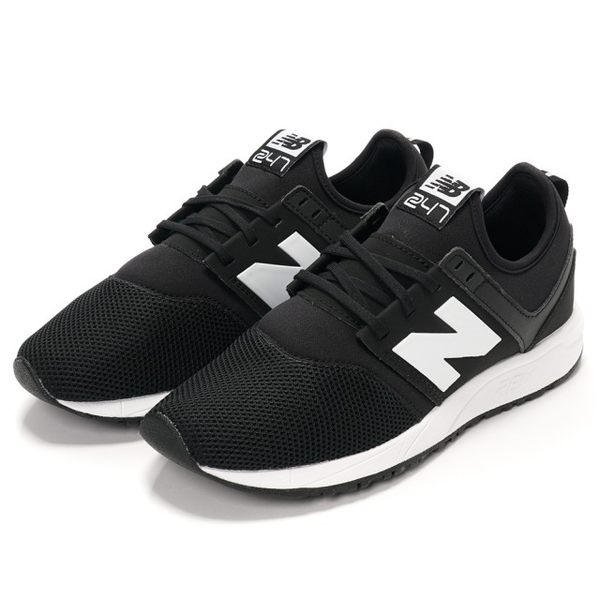 ISNEAKERS New Balance 247 黑 男女 MRL247BG