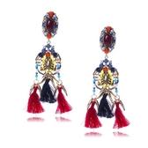 流蘇耳環-歐美時尚長款誇張女耳飾73ns35【時尚巴黎】