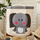 SHIBUDI 尋寶動物家族貼布收納袋-大象Nana
