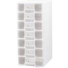 【奇奇文具】樹德 PC-1107W 玲瓏收納盒(白色)