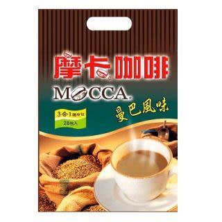 [仁仁保健藥妝] 摩卡曼巴風味3合1隨身包咖啡(13g*28包)