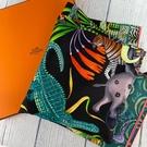 BRAND楓月 HERMES 愛馬仕 贊比西河的慶典 方形絲巾 領巾 服飾配件 90*90