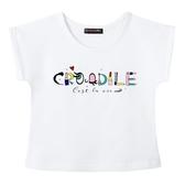 『小鱷魚童裝』口紅印花T恤(02號~10號)535485