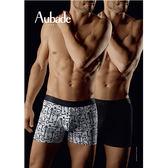 Aubade man-壞男人M-XL舒棉平口褲(鑰匙2件組)