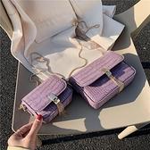 手機包 高級感洋氣小包包女2020新款潮迷你單肩鏈條時尚ins超火洋氣斜挎